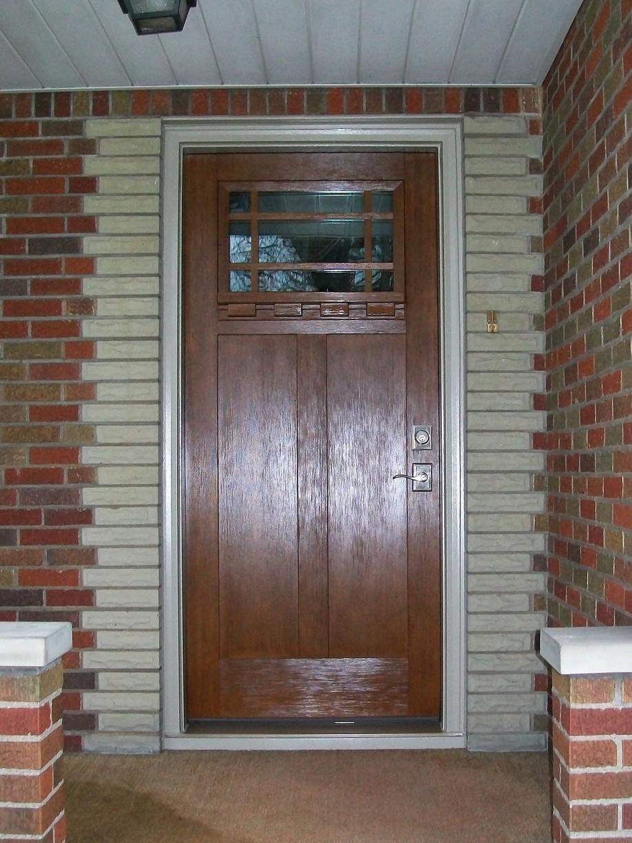 Entry door replacement in Connellsville, PA - After Photo