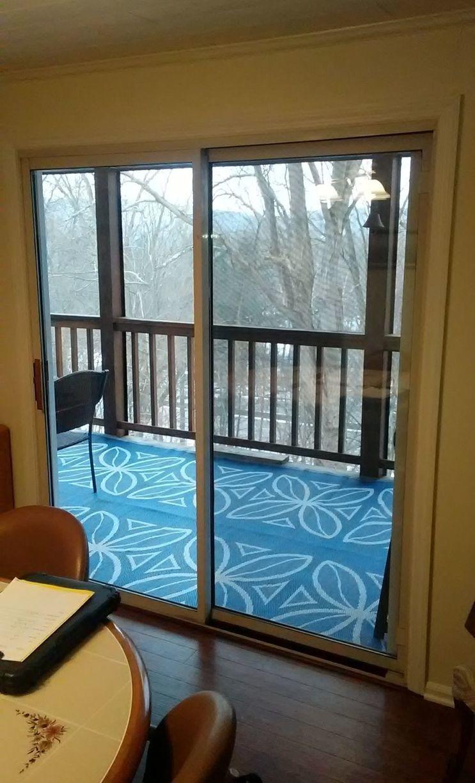 Sliding Glass Door Installation in Ligonier, PA! - Before Photo