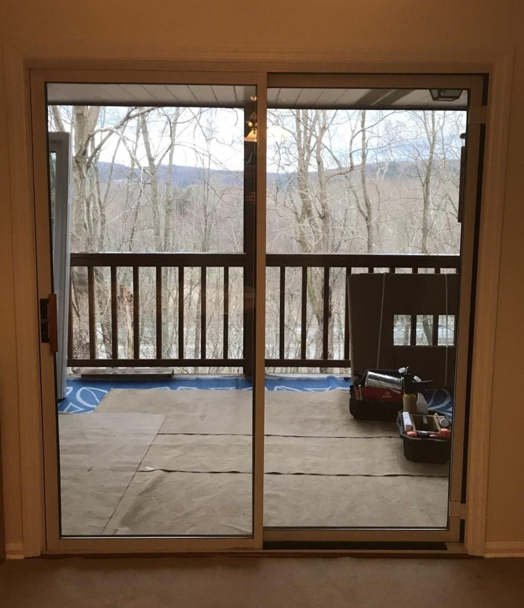 Sliding Glass Door Installation in Ligonier, PA! - After Photo