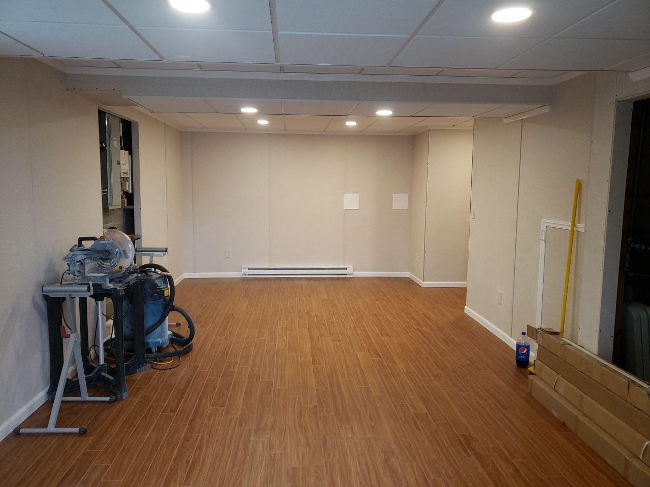 Awesome Basement Transformation in Monroeville, PA! - After Photo