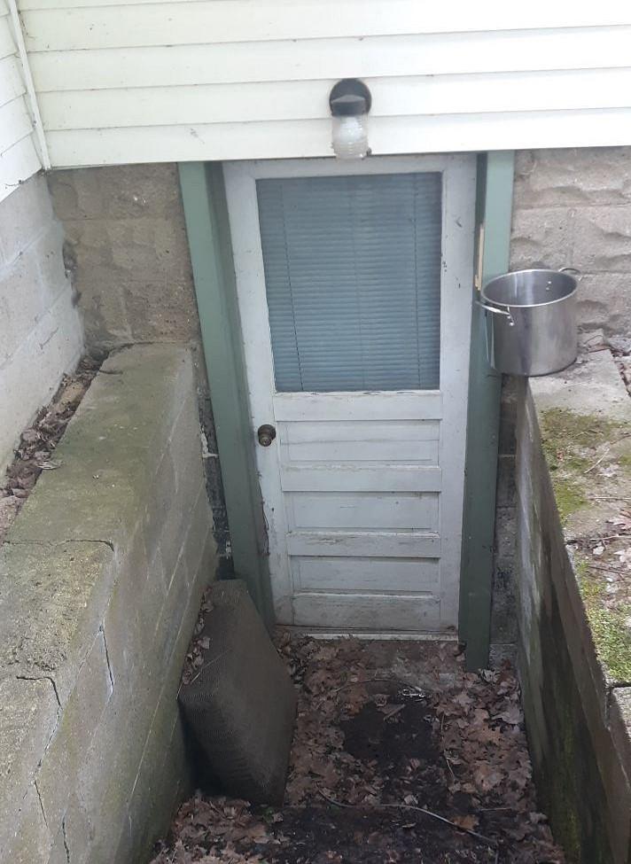 Basement Door Upgrade in Burgettstown, PA! - Before Photo