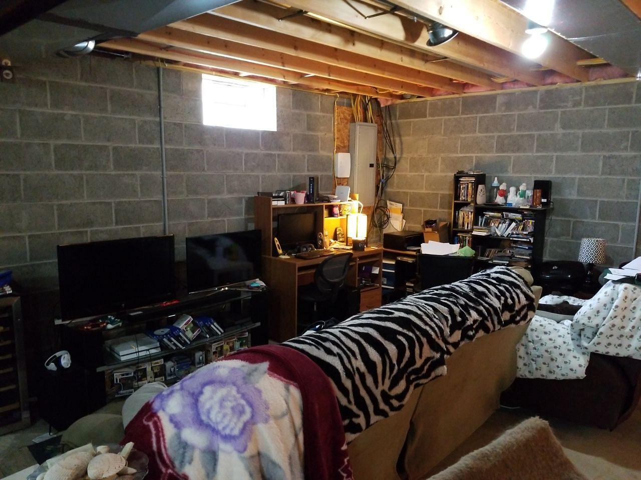Awesome Game Room Transformation in Washington, PA! - Before Photo