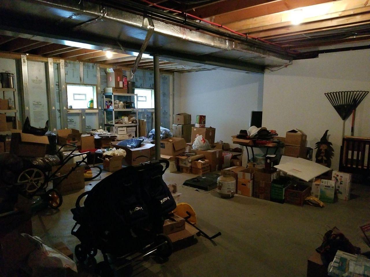Basement Transformed into Playroom in Venetia, PA! - Before Photo