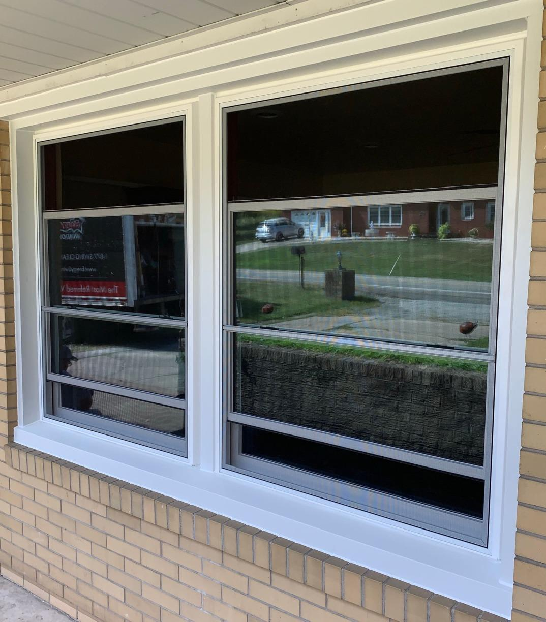 Old Window vs. New Window - What A Difference! - After Photo