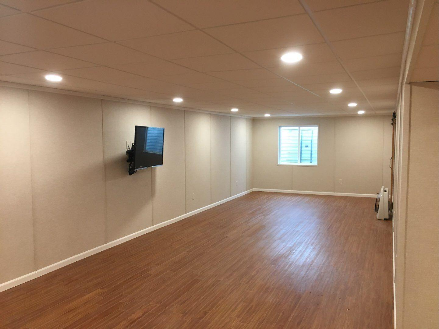 Complete Basement Transformation in Washington, PA! - After Photo