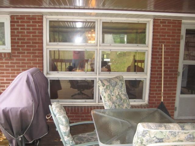Window Replaced with Sliding Glass Door in Greensburg, PA - Before Photo