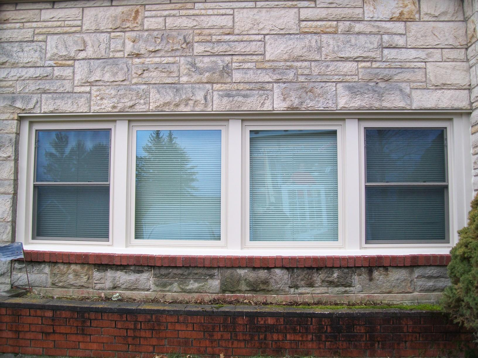 Double Hung and Picture Window Replacement in Latrobe, PA - After Photo