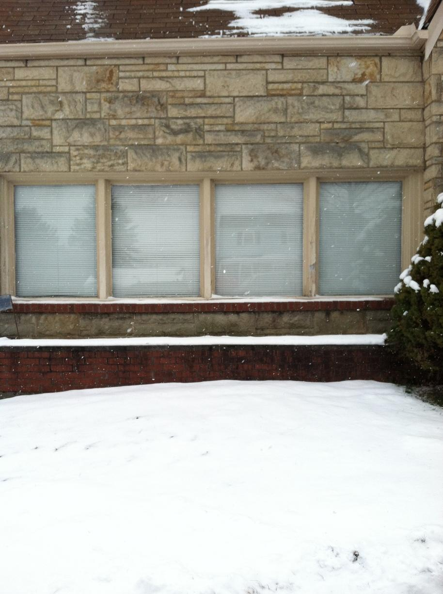 Double Hung and Picture Window Replacement in Latrobe, PA - Before Photo