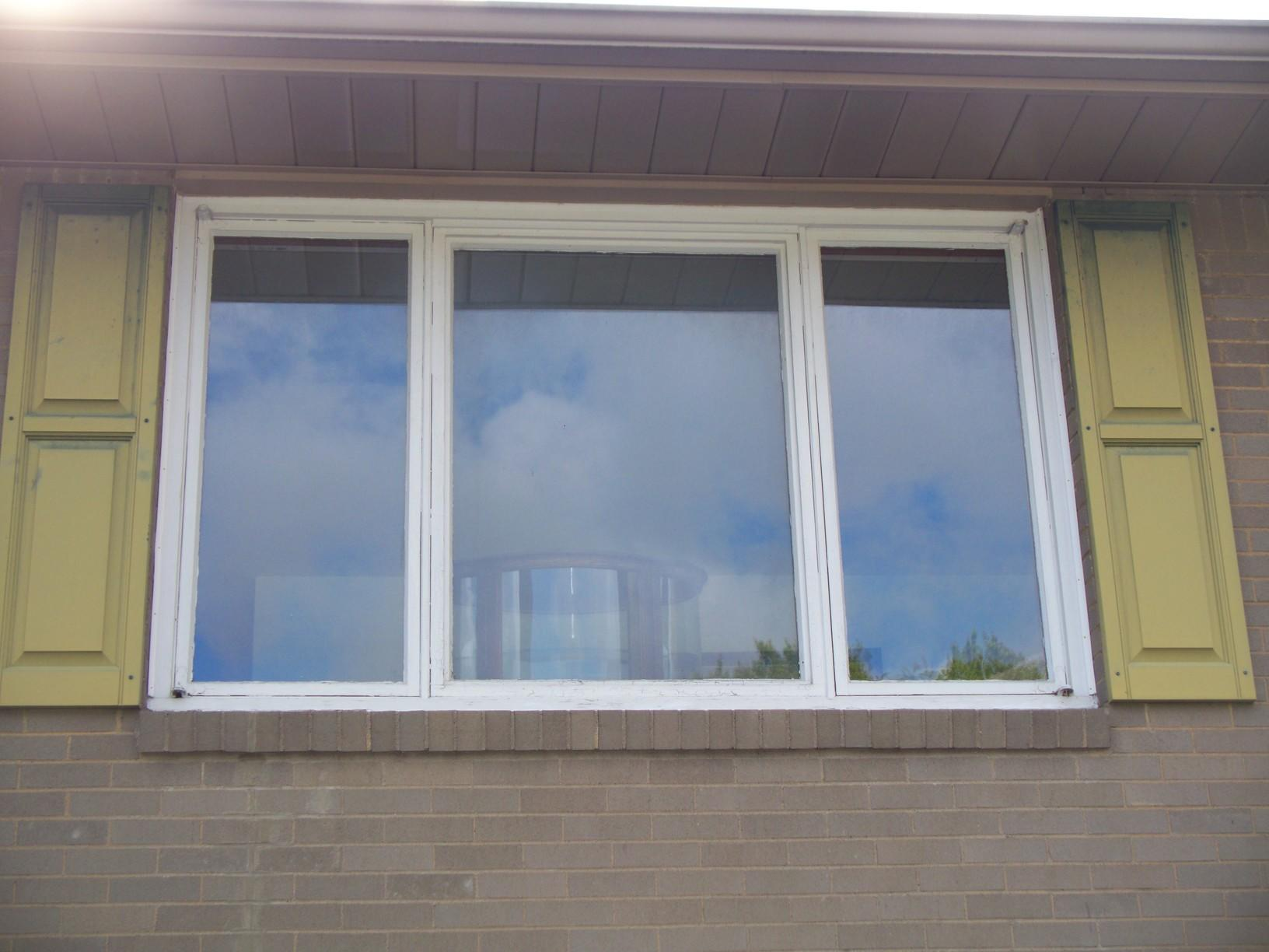 Three Panel Slider Window Replacement and Installation in Greensburg, PA - Before Photo