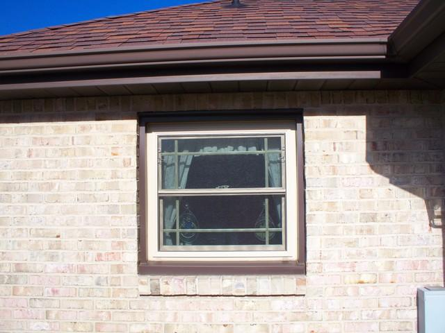 Double hung window replaced by garden window in Greensburg, PA - Before Photo