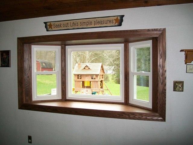 Beautiful bay window replacement in Irwin, PA