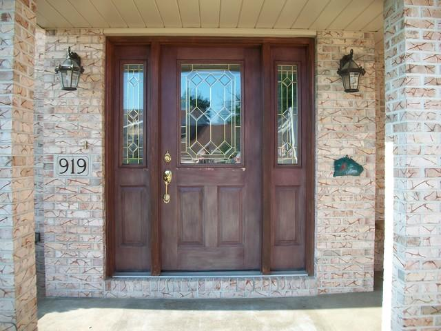 Before and After of Beautiful Entry door in Greensburg, PA