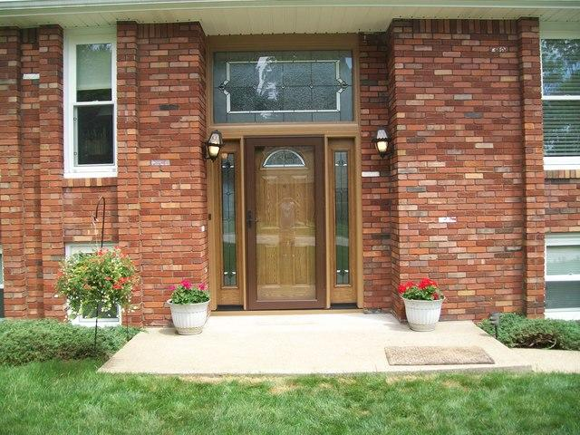 Entry Door with Transom in Harrison City