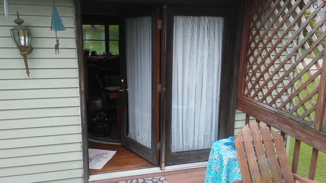 A Patio Door Makeover in Gibsonia, PA