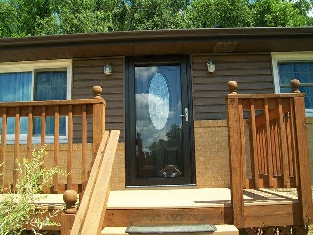Home Makeover with New Entry and Storm Door Installation in Herminie, PA - After Photo