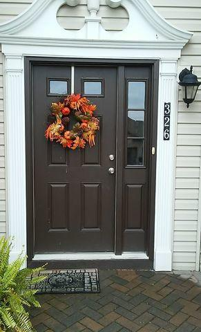 Beautifully detailed entry door installed in Irwin, PA