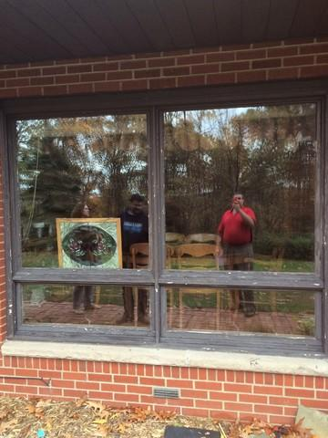 Custom window replacement job in Indiana, PA - Before Photo