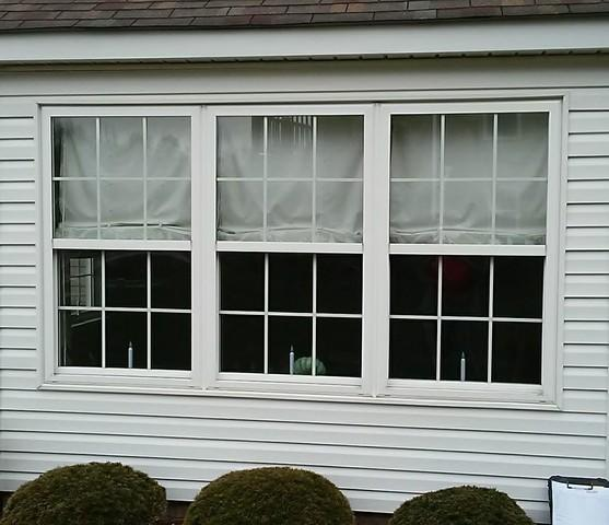 Three Mulled, Double Hung Window Replacement in Jeanette, PA