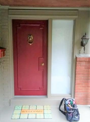 Home Transformation with Front Door Replacement in Mt Lebanon, PA