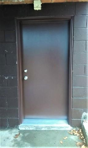 Security Upgrade with Door Replacement in Allison Park, PA