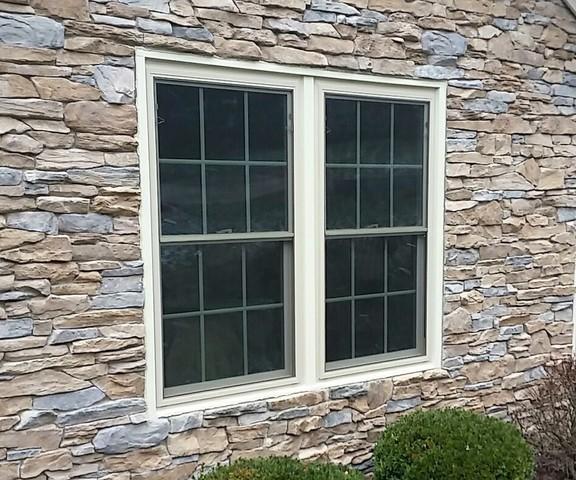 Beautiful beige window replacement in Greensburg, PA
