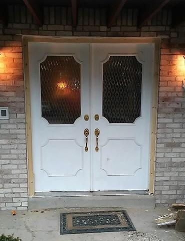 French Door Makeover in Murrysville, PA - Before Photo