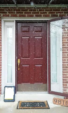 Front Door Update in North Hills, PA