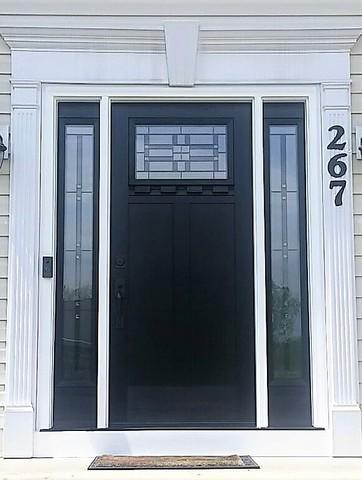 New, Modern Front Door Installed in Gibsonia, PA