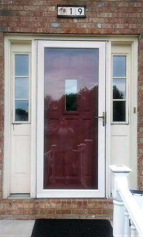 Front Door and Storm Door Replaced in Irwin, PA
