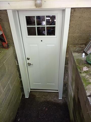 Basement Door Upgrade in Burgettstown, PA! - After Photo