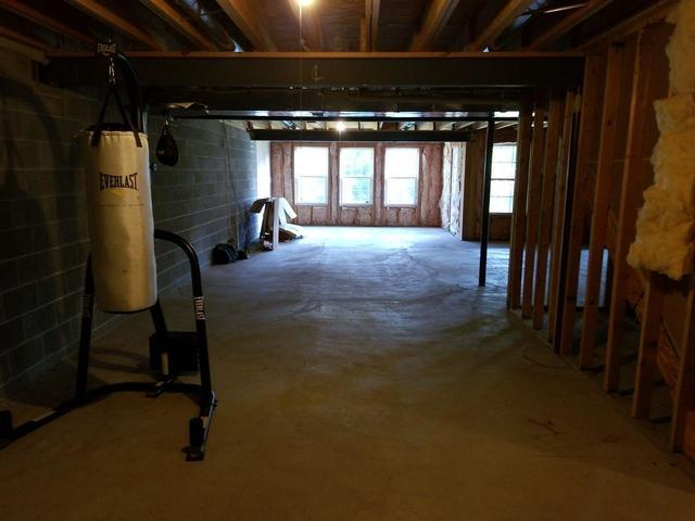 Large Basement with Barn Doors Finished in Monroeville, PA!