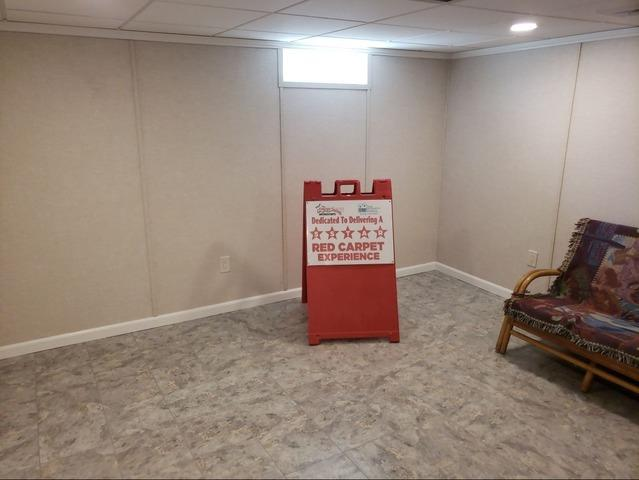 Water Damaged Basement Transformed in Gibsonia, PA!