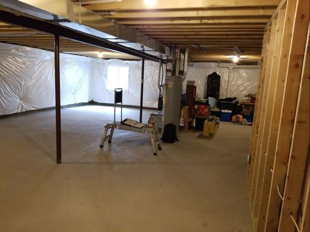 Complete Basement Transformation in Washington, PA! - Before Photo