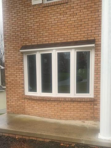 4-Lite Bow Window Replaced in Greensburg, PA!