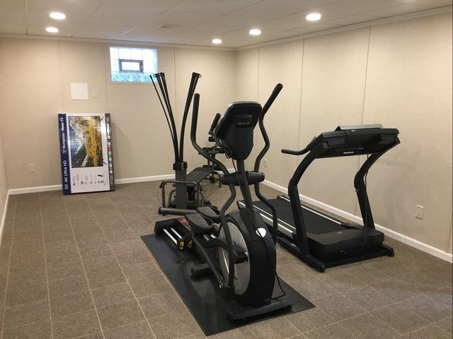 Basement Transformed into In-Home Gym in Coraopolis, PA!