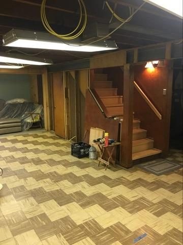 Old McKees Rocks Basement Made New With the TBF System!