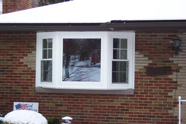 Bay window installation in North Huntingdon, PA