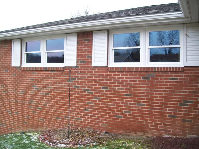 Double hung window installation in North Huntingdon, PA