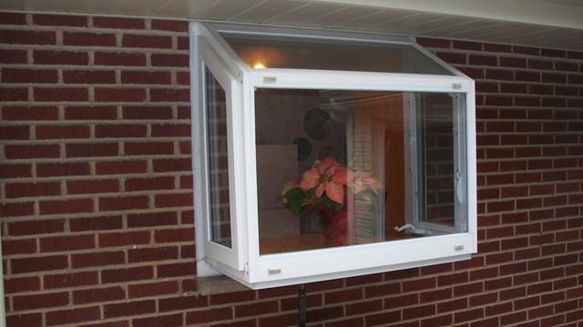 Garden window opening converted to slider window in Apollo, PA