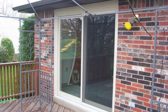 Sliding glass door installation in Harrison City, PA