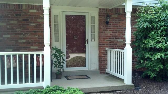 Front entry door and storm door installed in Murrysville, PA