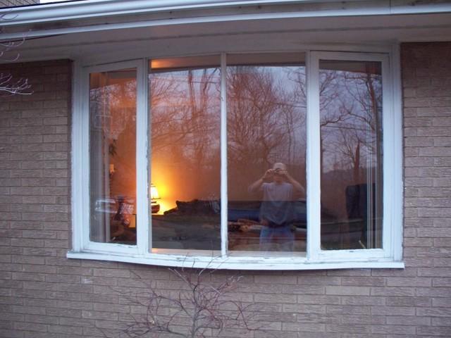Dramatic bay window replacement in Irwin, PA