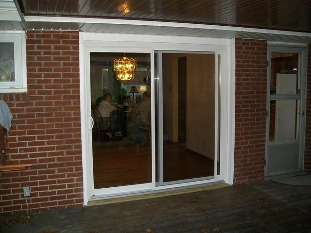 Window Replaced with Sliding Glass Door in Greensburg, PA