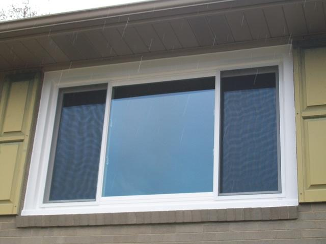 Three Panel Slider Window Replacement and Installation in Greensburg, PA - After Photo