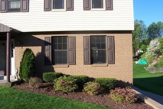Tan Double Hung Window Replacement in Irwin, PA