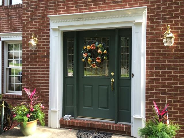 Beautiful Front Entry Door and Sidelites Installed in Export, PA