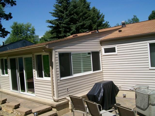 Porch enclosure and window installation in Manor, PA