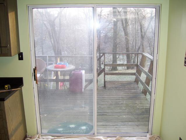 Sliding glass door installation in Murrysville, PA
