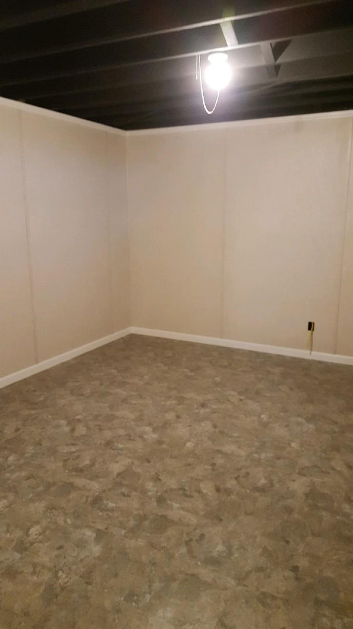 More Spacious Basement in Boston, NY - After Photo