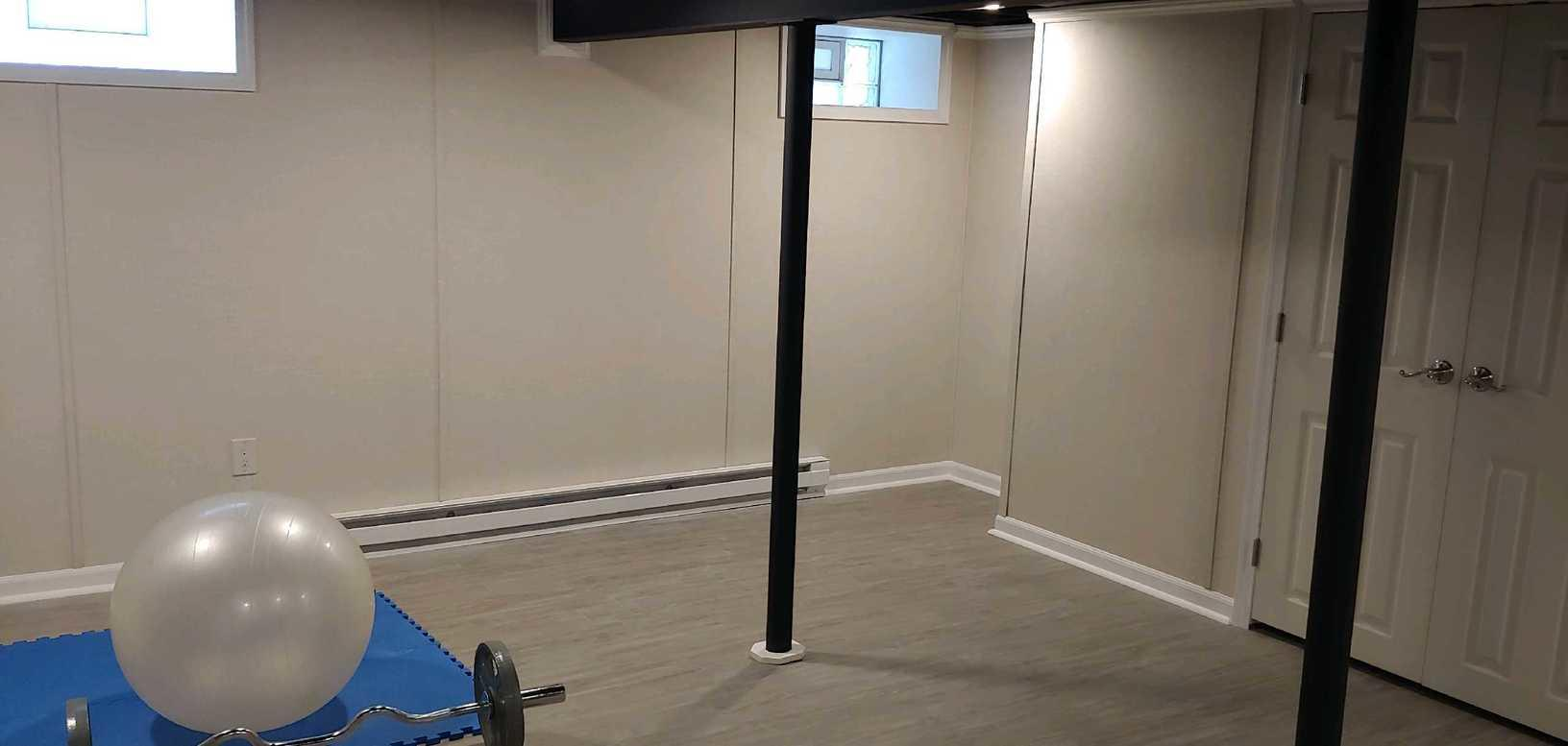 A New Home Gym in Hamburg, NY - After Photo